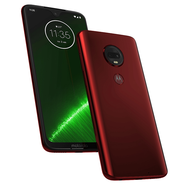Moto G7 Plus color rojo